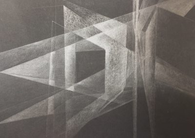 Transmission, graphite drawing 2017