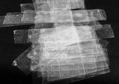Lightbuild, tape drawing 2017