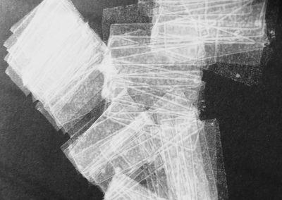 Lightfall 2, tape drawing 2017