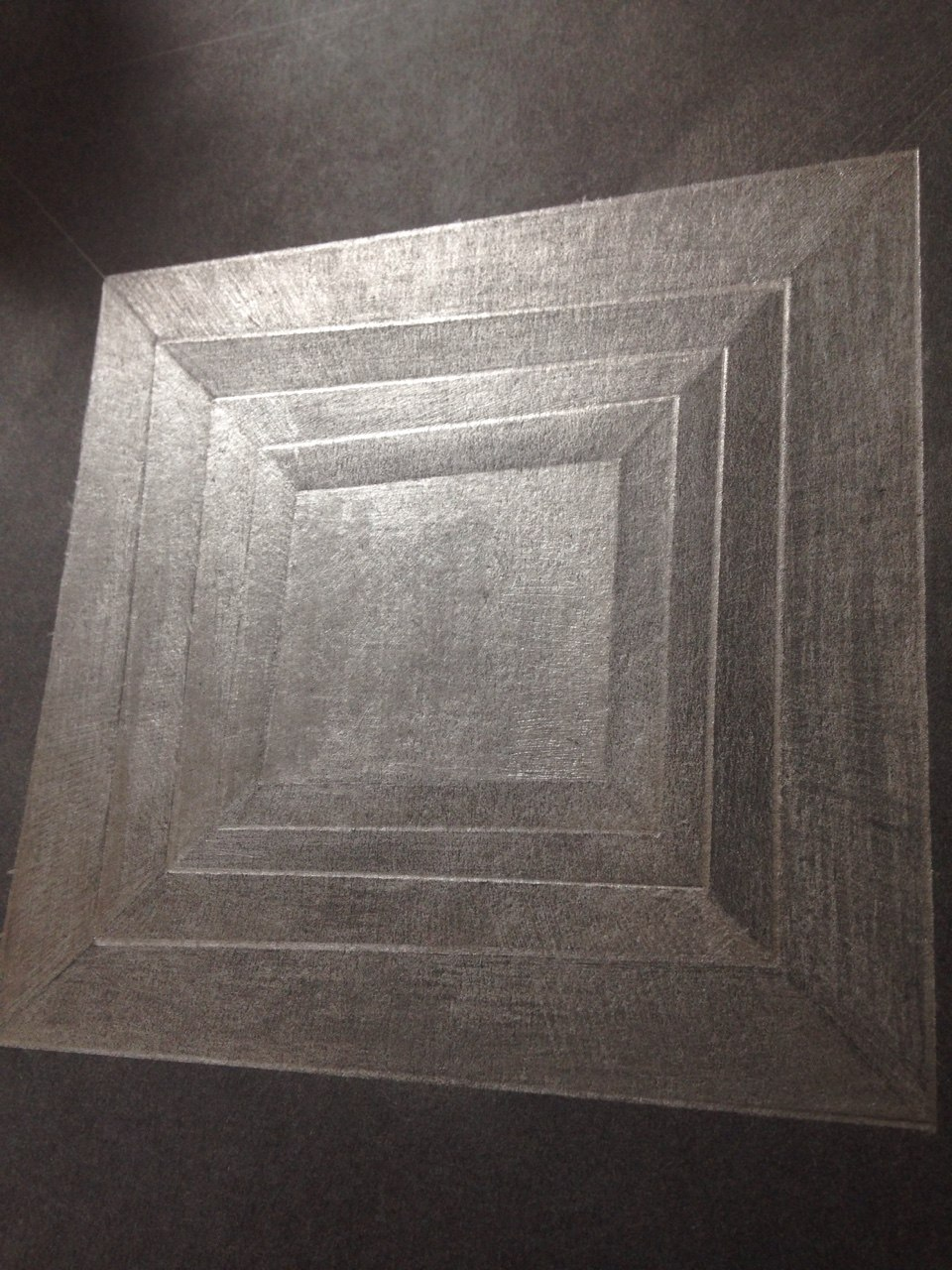 Vault, graphite drawing, A3, 2017
