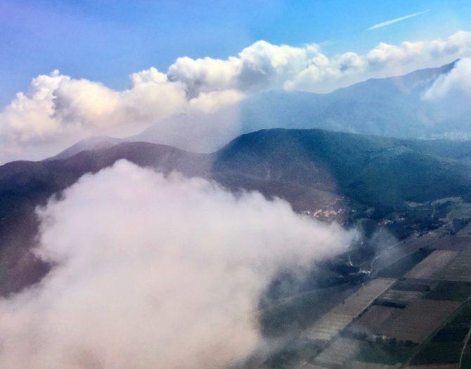 leaving Tuscany