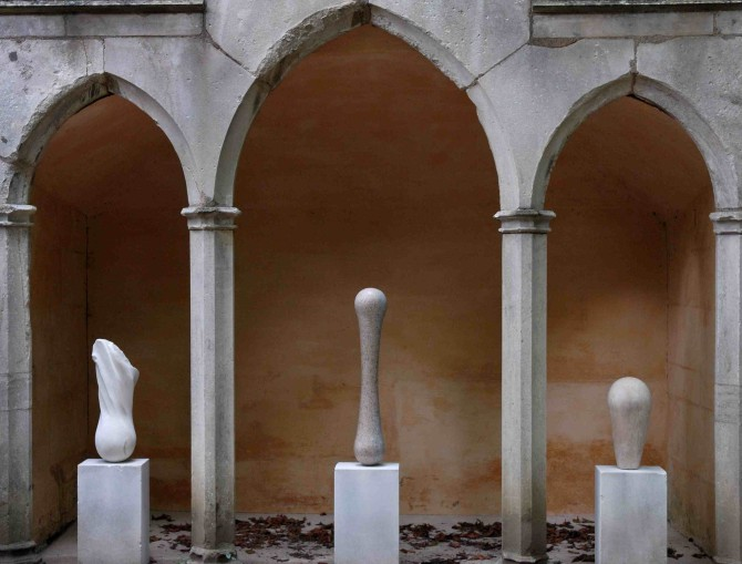Triptych, Rococo Garden 2011