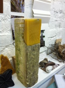cotswold stone with bees wax