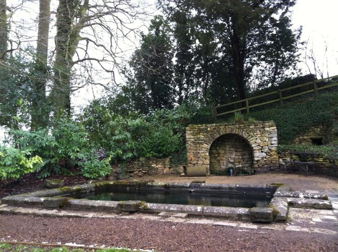 Plunge pool& fountain, Rococo Garden