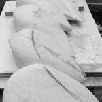 Carving in procress, Carrara marble, 07.10.2014