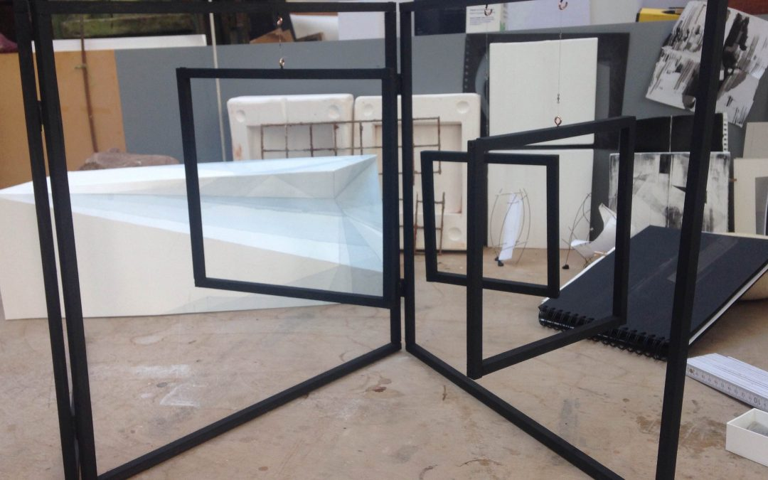 See-Through Squares, model