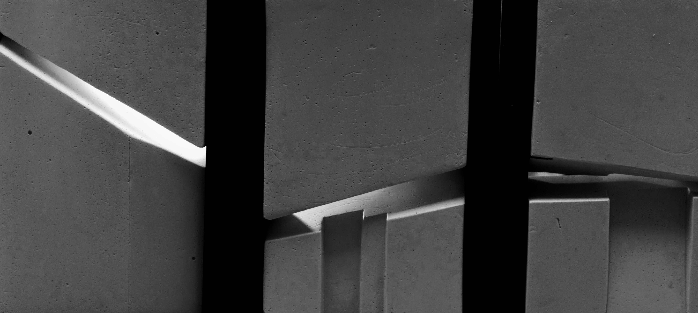 """""""Passing Light"""" model/plaster 80cmx 25cmx 5cm"""