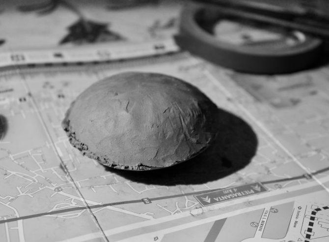 plasticine model for carving